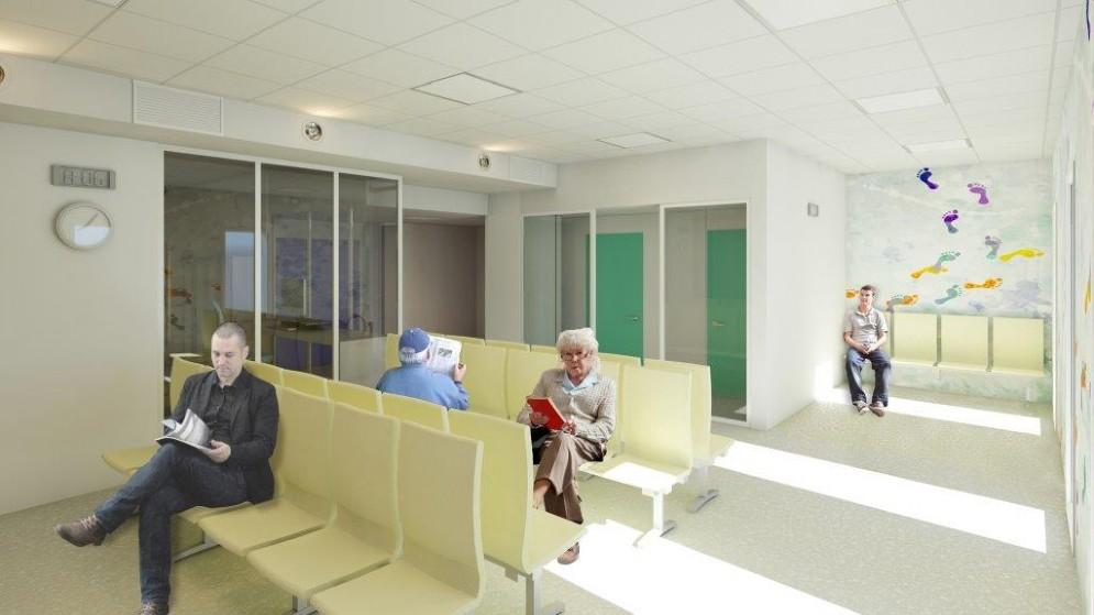 Ecco come sarà la nuova ala dell'ospedale