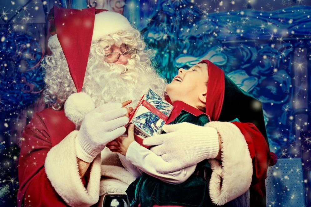Babbo Natale incontra un bimbo malato terminale