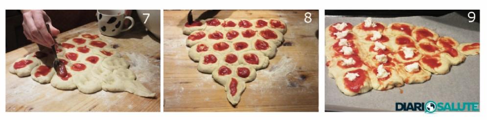 Farcire l'albero pizza