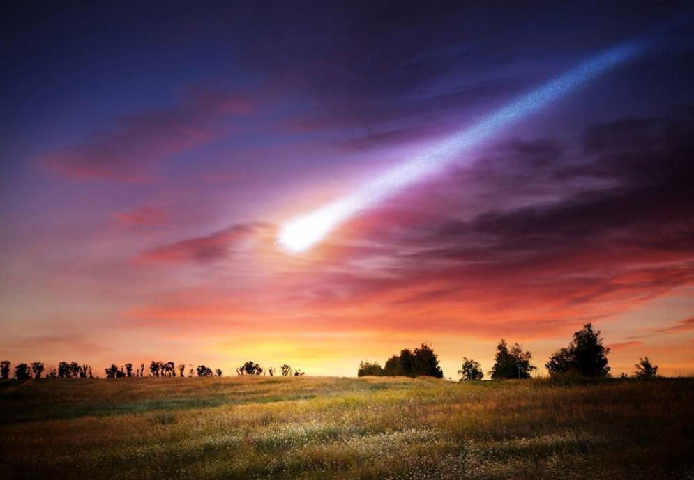 Un meteorite solca i cieli della Spagna