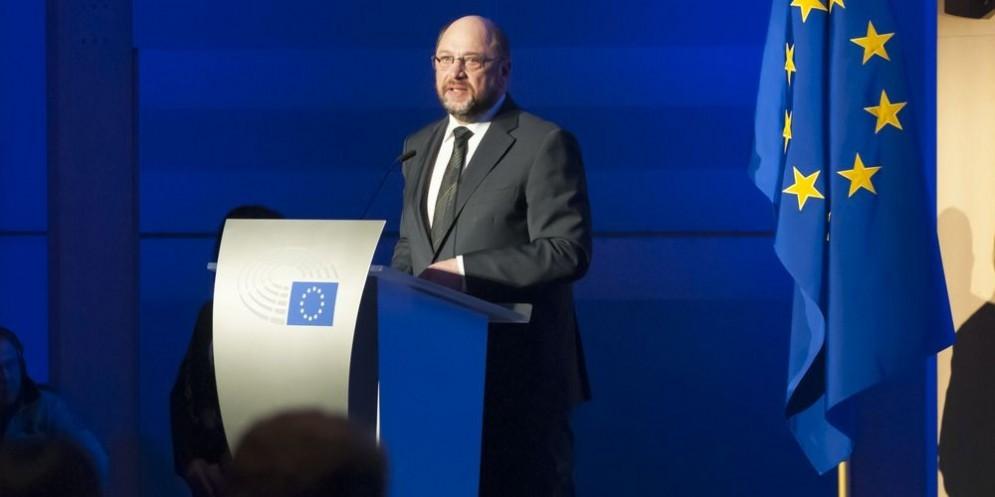 Il presidente uscente del Parlamento europeo Martin Schulz.