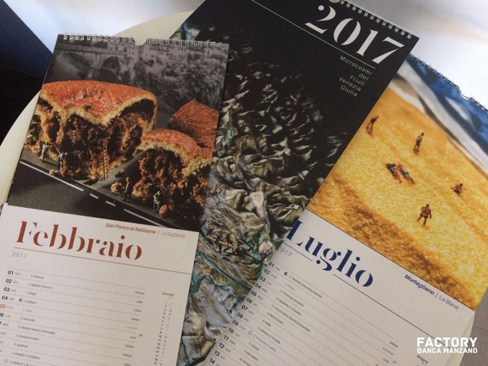 Il nuovo calendario realizzato dalla Factory