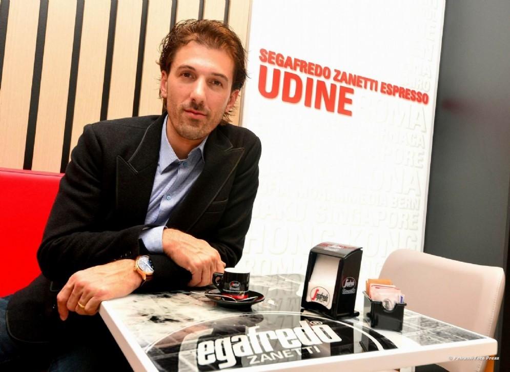 Fabian Cancellara in Friuli per l'apertura di un nuovo bar (© Petrussi)