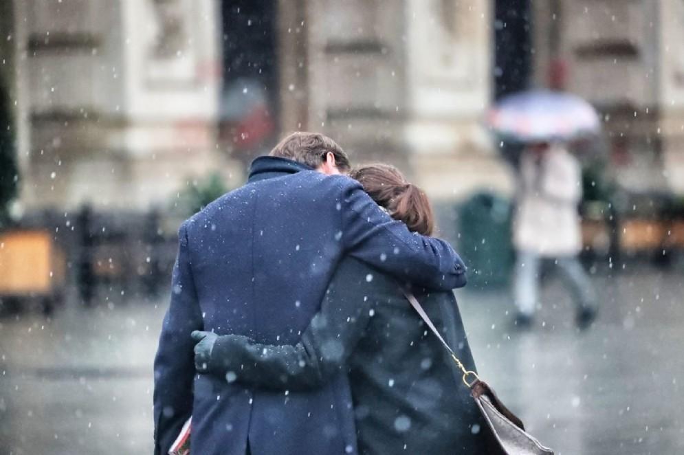 Neve a Torino il 19 dicembre (© Andrea Cherchi)