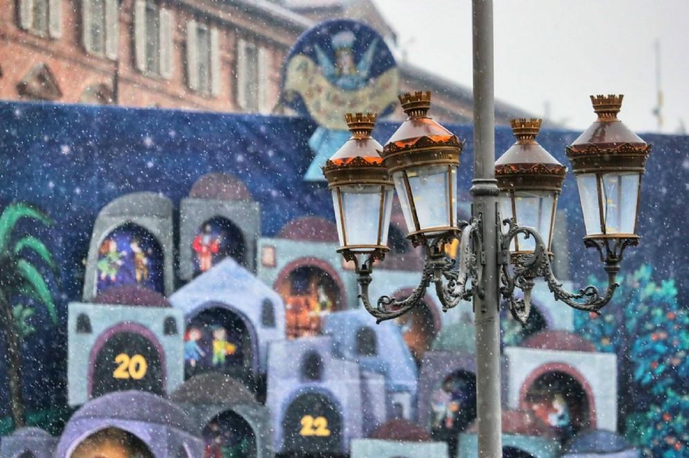 Neve a Torino il 19 dicembre
