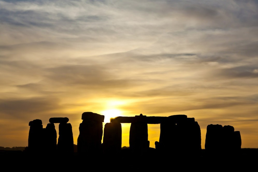 Solstizio d'inverno a Stonehenge