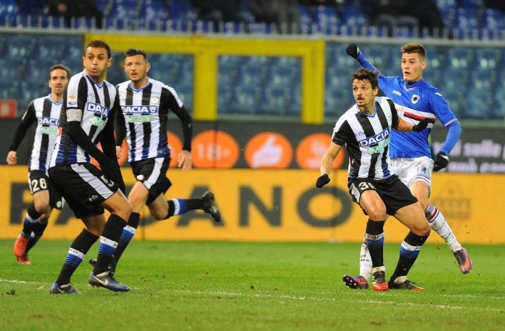Pareggio a Marassi per l'Udinese
