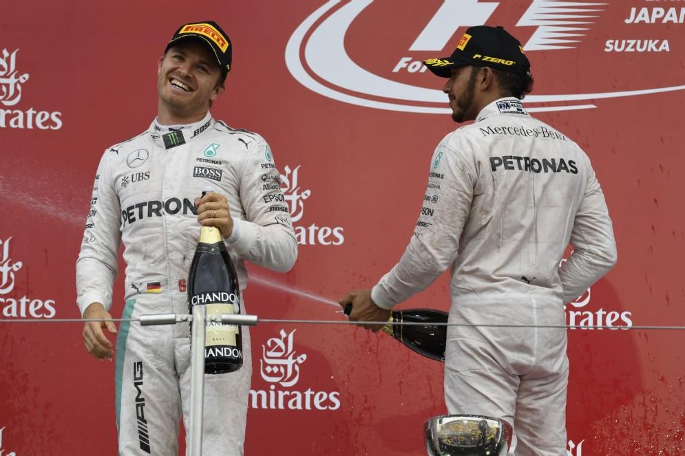 In Giappone rivince Rosberg, Hamilton sbaglia la partenza ed è solo terzo