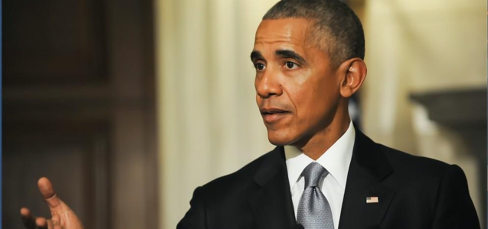 L'ex presidente Usa Barack Obama