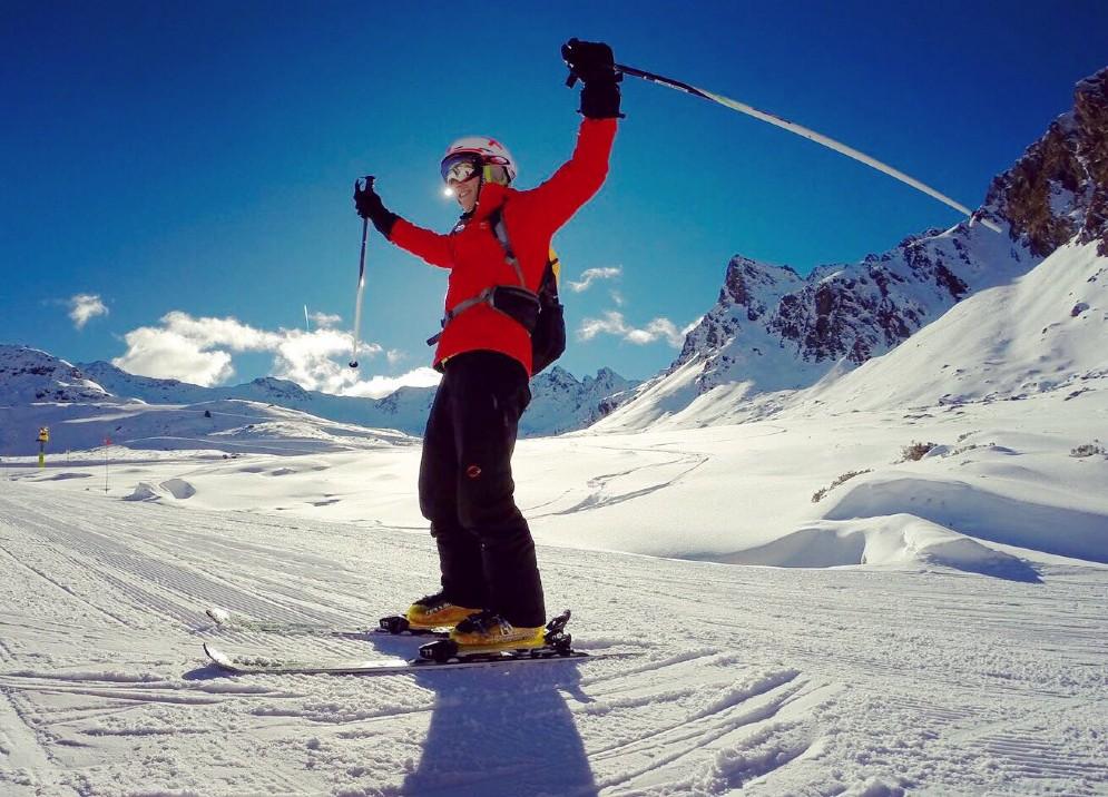 Marc Marquez preferisce dare sfogo alla sua fame di velocità sugli sci