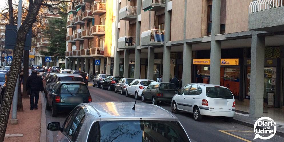 Viale Ungheria a Udine