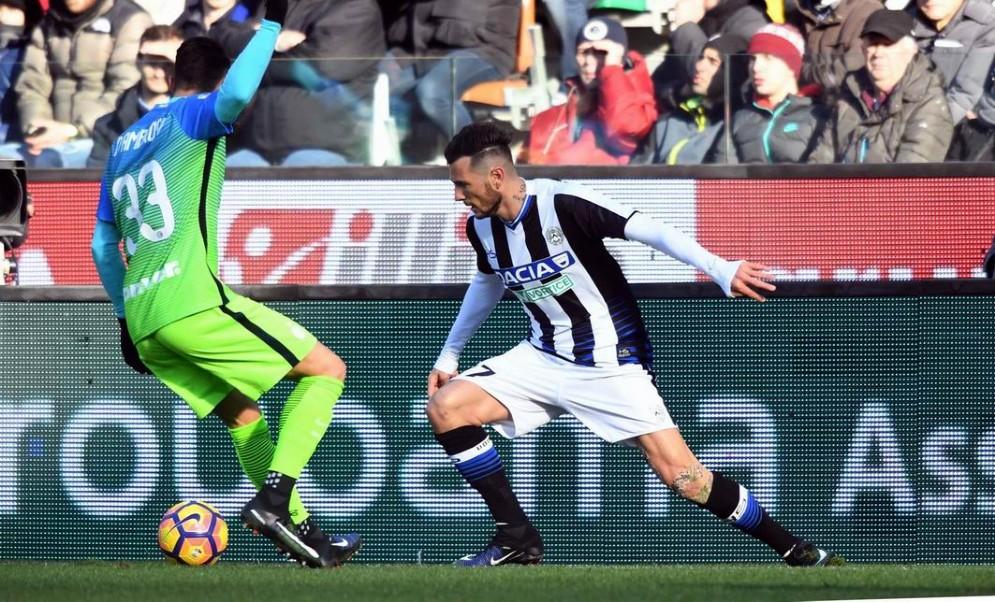 L'Udinese esce sconfitta dalla sfida con l'Inter (© Diario di Udine)
