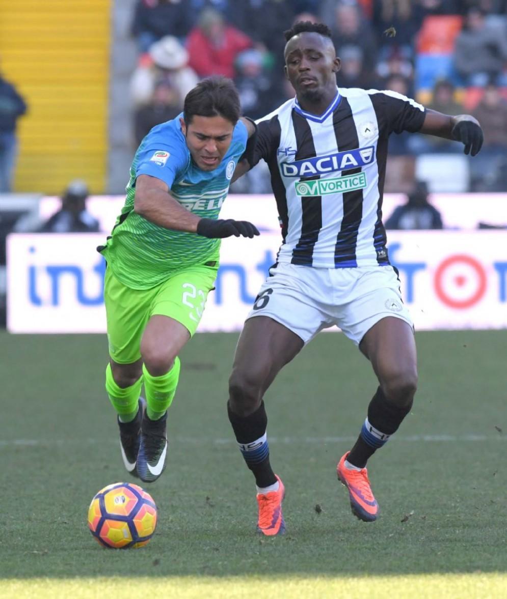 L'Udinese esce sconfitta dalla sfida con l'Inter