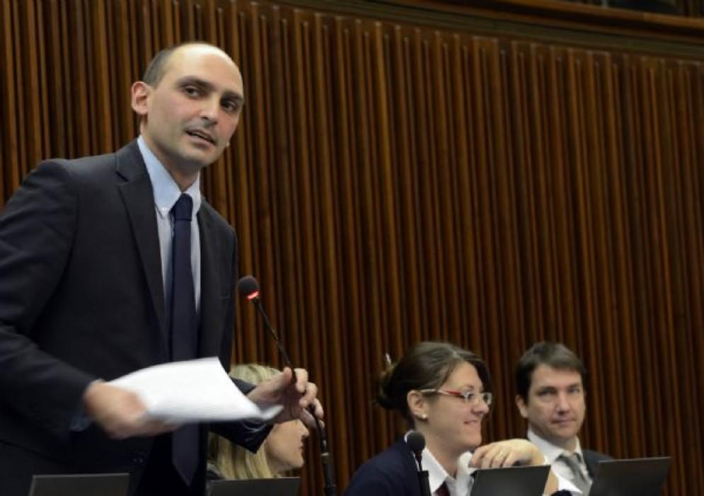 Il capogruppo del MoVimento 5 Stelle in Consiglio regionale Cristian Sergo