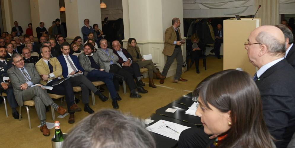 La presidente Serracchiani all'incontro su Porto Vecchio