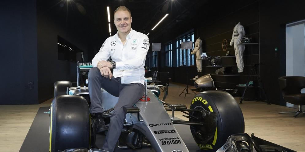 La prima foto di Valtteri Bottas da pilota Mercedes