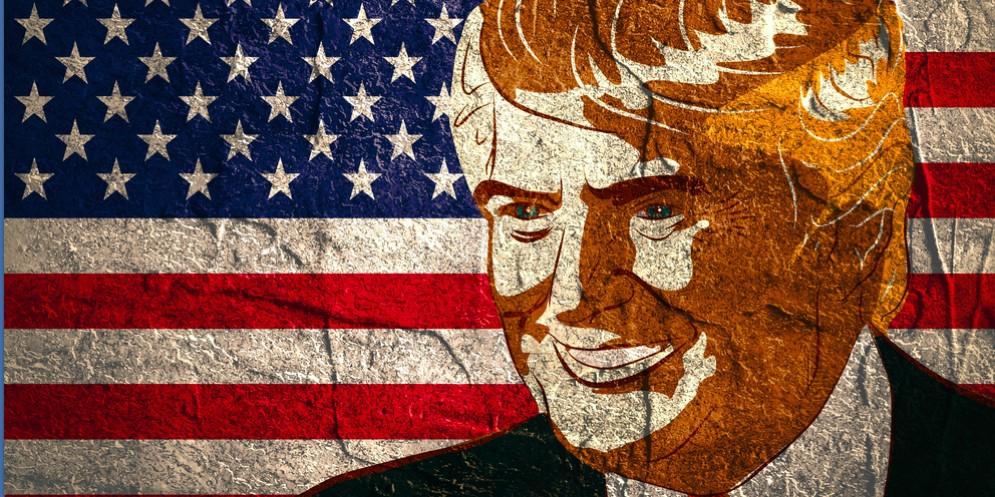 Il nuovo presidente americano, Donald Trump.