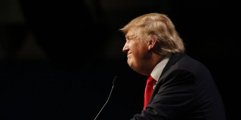 Il 45esimo presidente americano, Donald Trump.