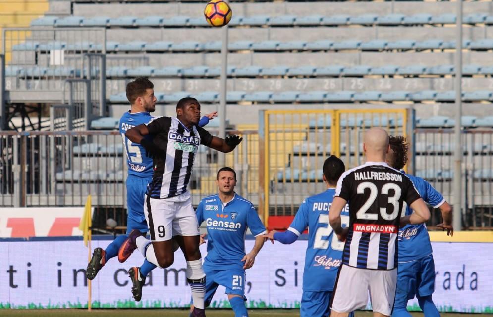 Le immagini della partita tra Empoli e Udinese