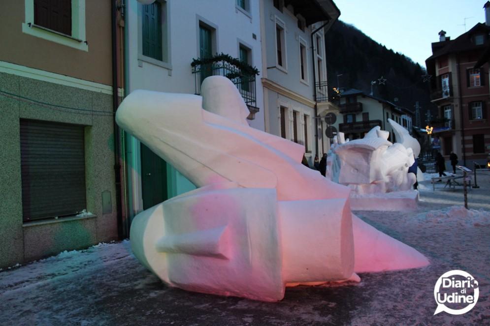 Snow Art Pontebba: conclusa la seconda edizione, vince il Pavone
