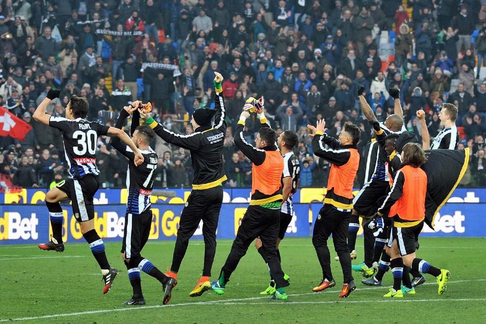 Vittoria dell'Udinese contro il Milan (© Diario di Udine)
