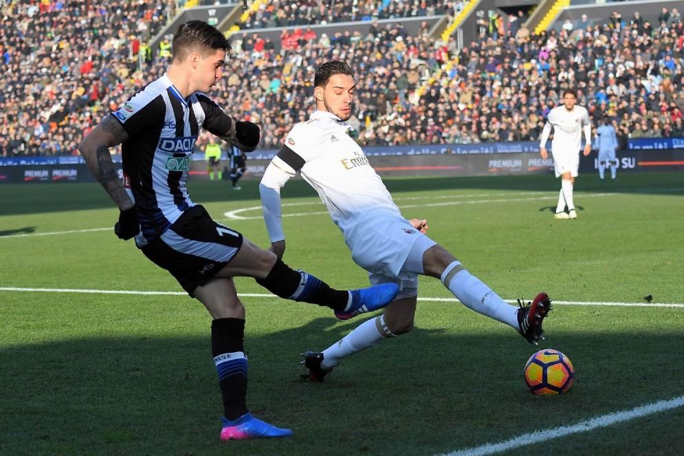 Vittoria dell'Udinese contro il Milan