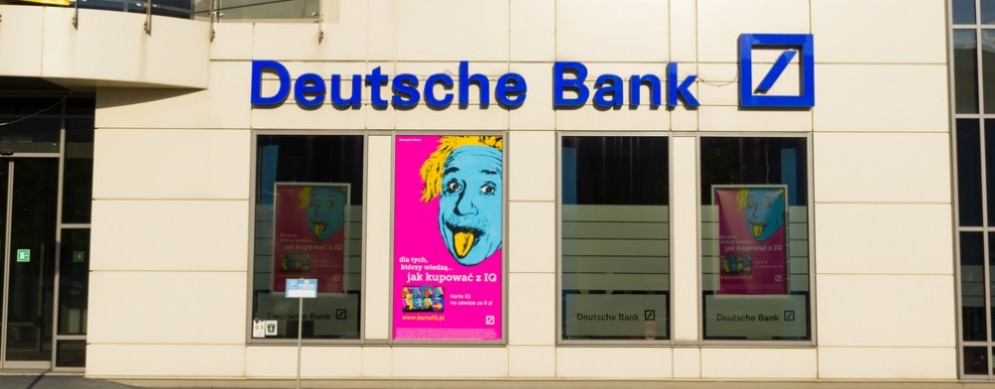 Deutsche Bank perde 1,4 miliardi di euro nel 2016.