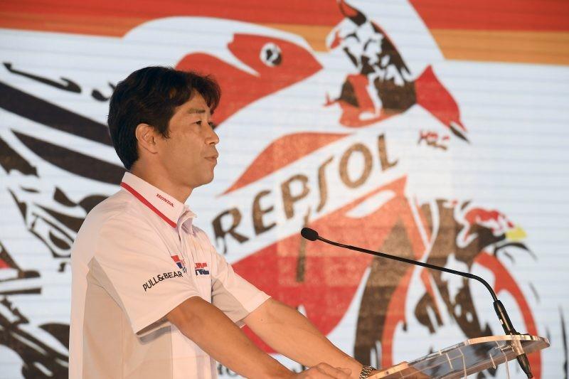 Il direttore generale di Hrc Tetsuhiro Kuwata