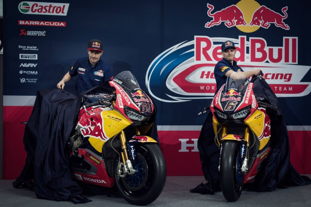 Nicky Hayden e Stefan Bradl svelano le nuove Honda Cbr1000Rr