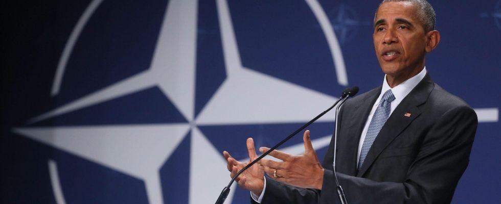 Barack Obama al vertice della Nato di Varsavia del luglio 2016.