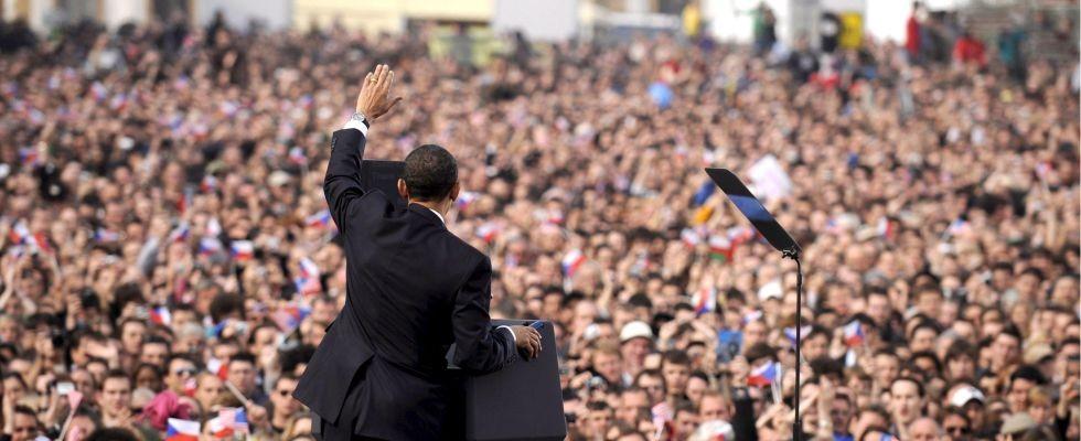 Il discorso di Obama tenuto a Praga nel 2009 sul disarmo nucleare.