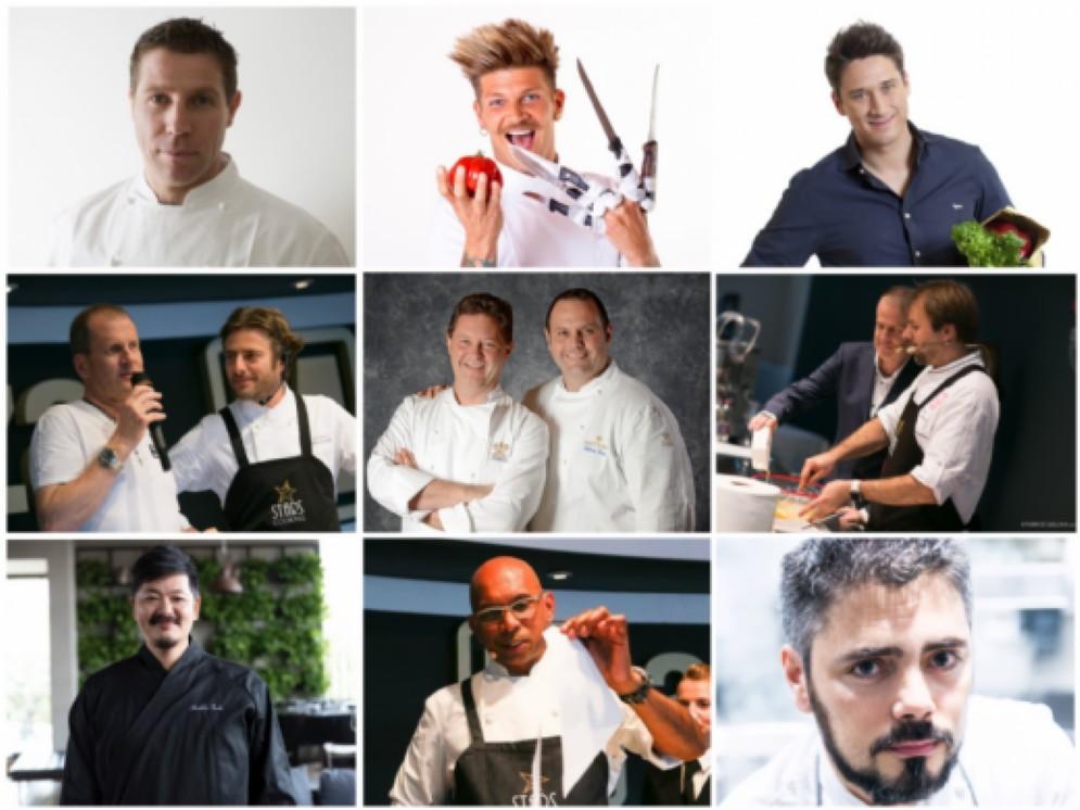 """Stars Cooking 2017, evento nell'evento a """"Cucinare"""""""