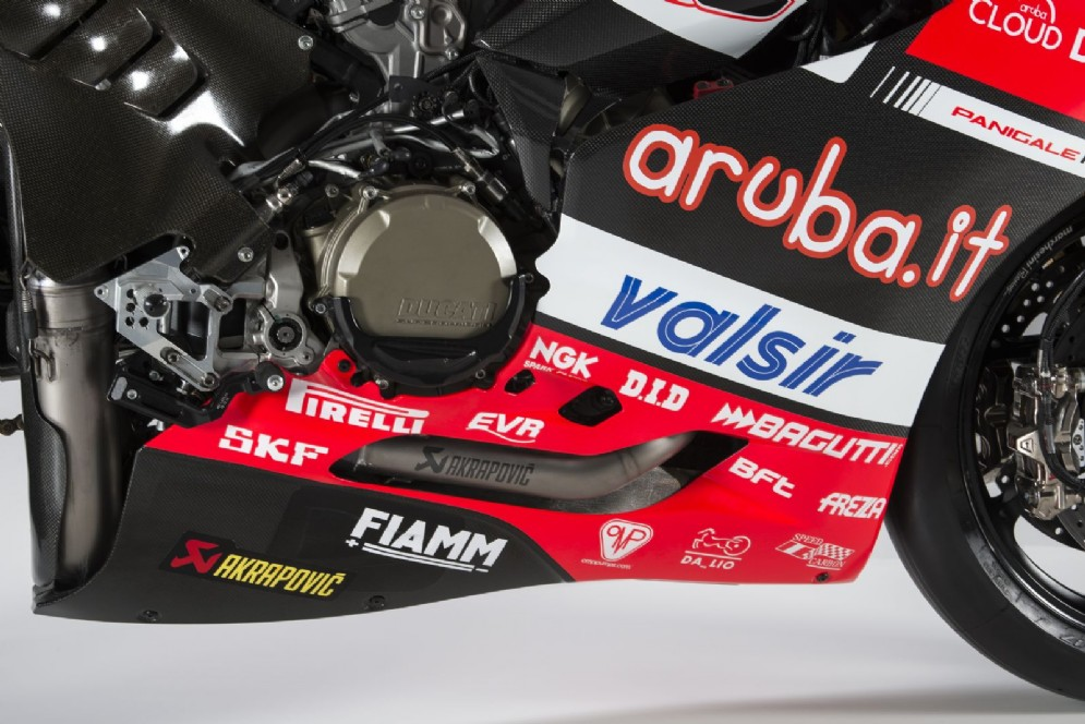 Il motore della Ducati Panigale R 2017