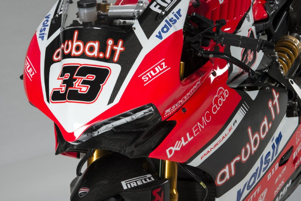 La carena anteriore della Ducati Panigale R 2017