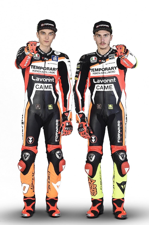 Luca Marini e Lorenzo Baldassarri