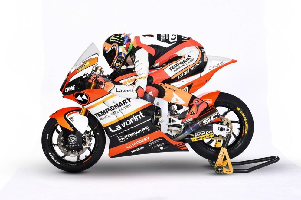 Luca Marini sulla moto