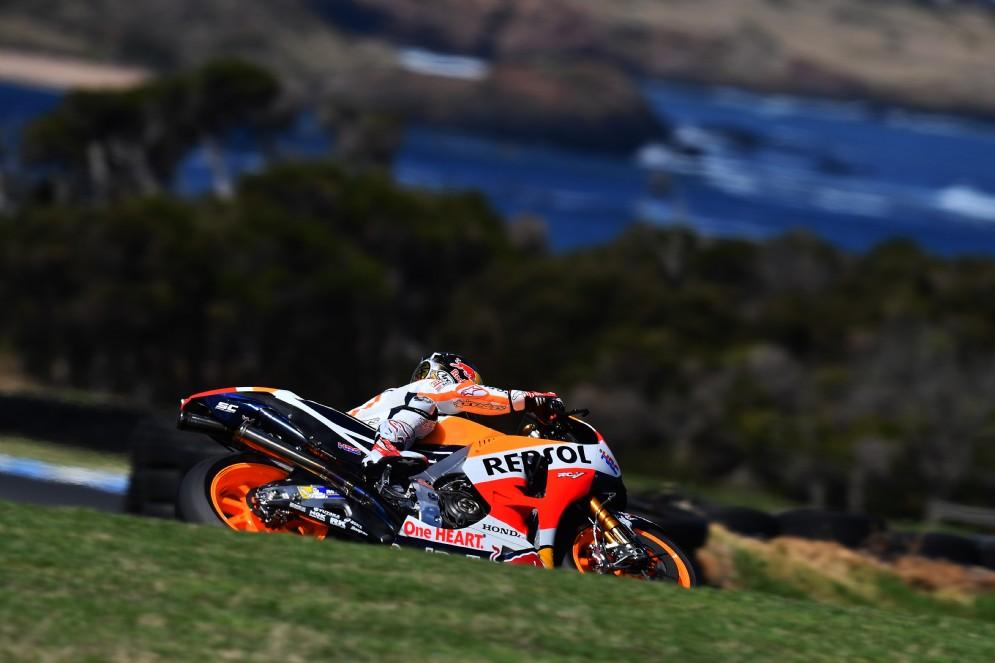 La seconda Honda di Dani Pedrosa chiude al settimo posto