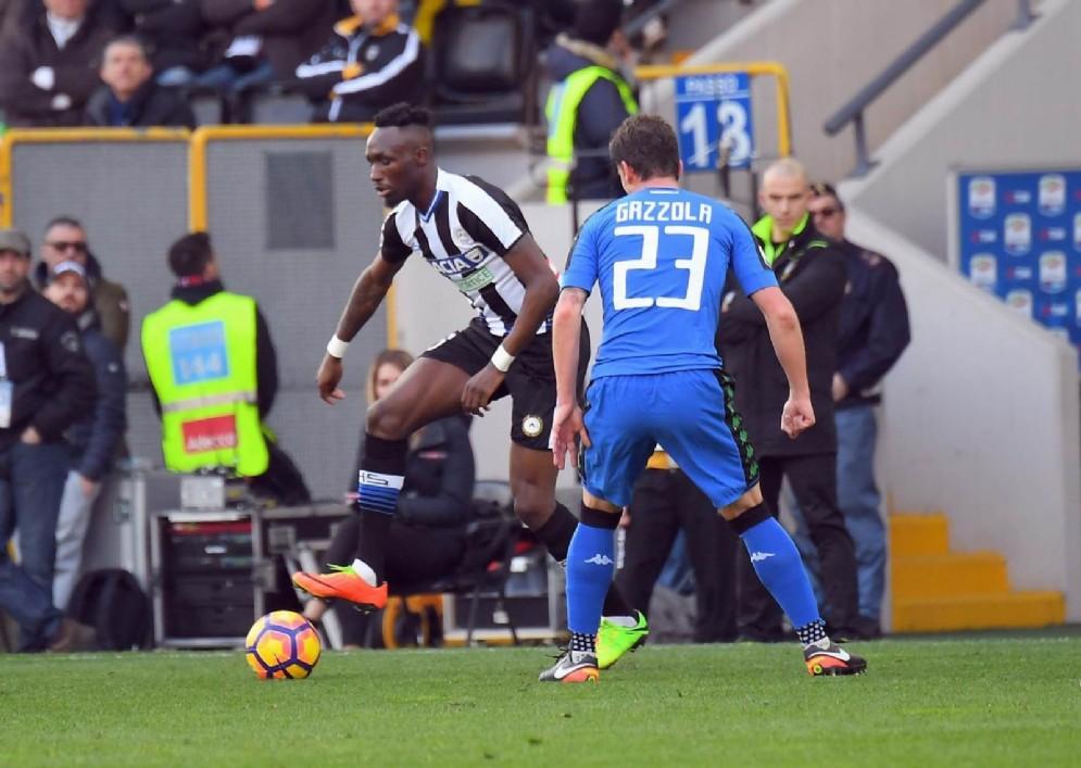 Brutta prestazione per l'Udinese contro il Sassuolo