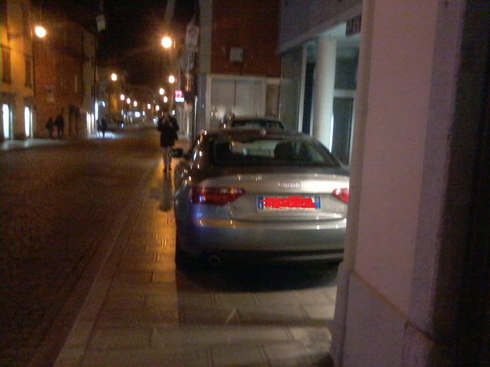 Parcheggi selvaggi in città