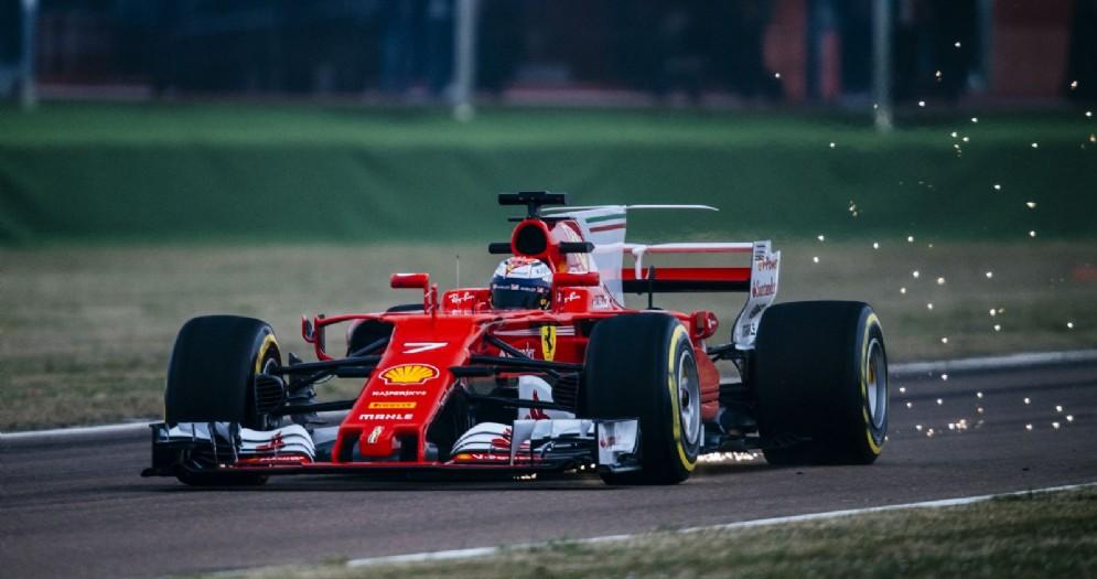 La Ferrari SF70H compie i suoi primi giri di pista a Fiorano