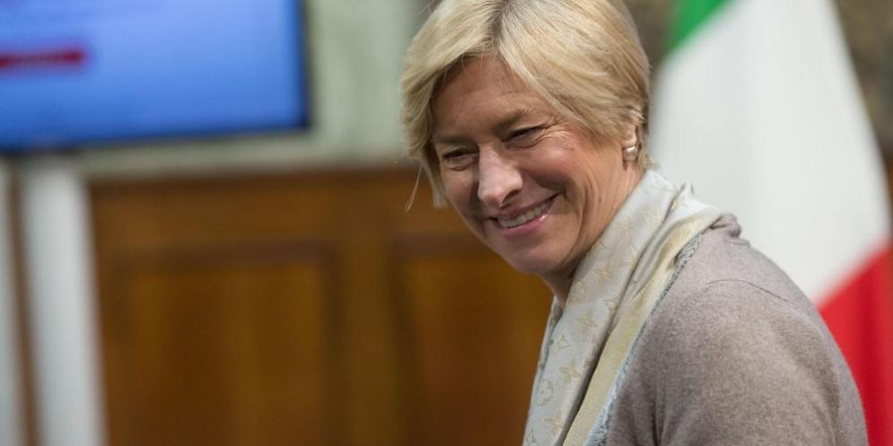 La ministra della Difesa Roberta Pinotti.