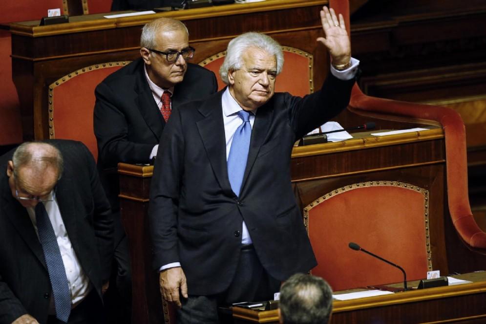 Il senatore di Ala, Denis Verdini condannato dal tribunale di Firenze a 9 anni di carcere per il crac del Credito cooperativo fiorentino