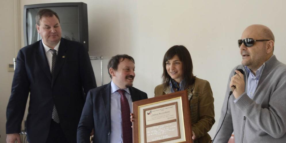 La visita della presidente Serracchiani