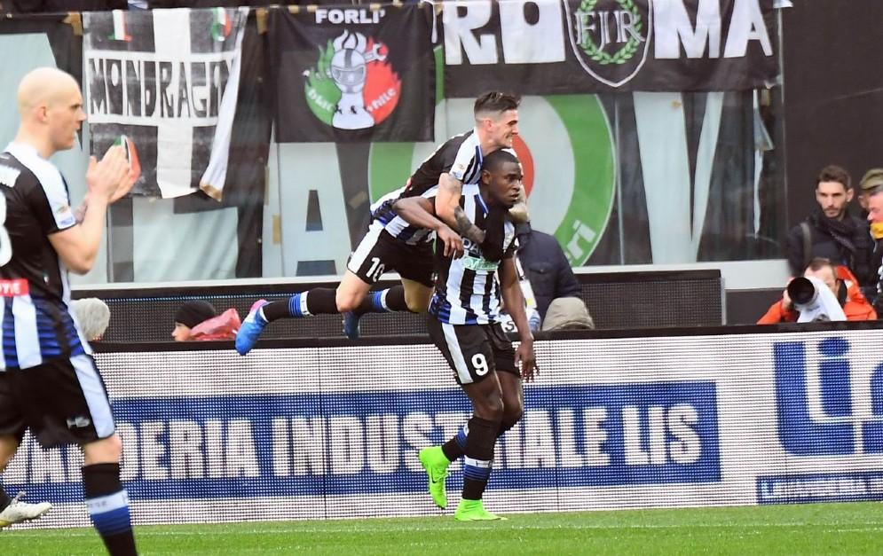 Buon pareggio per l'Udinese contro la Juve (© Diario di Udine)