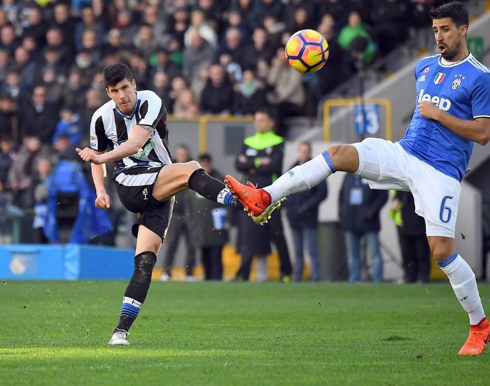 Buon pareggio per l'Udinese contro la Juve