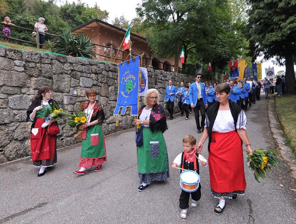 Una delle ultime celebrazioni dell'Efnm