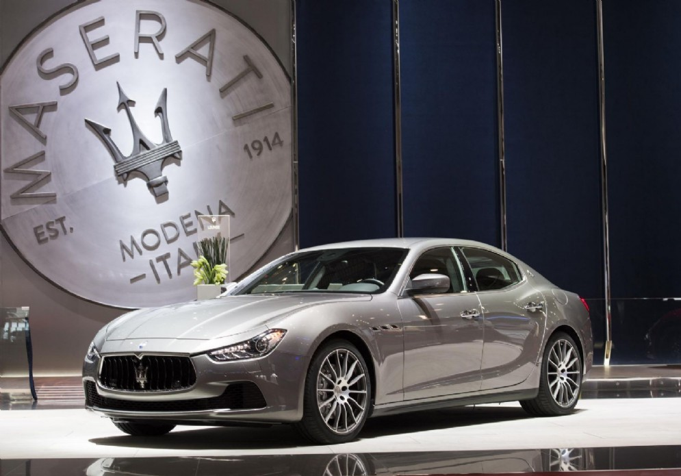 Il Maserati Ghibli Diesel in mostra alla kermesse elvetica