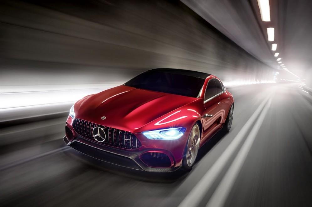 La Mercedes Amg Gt Concept