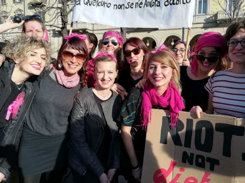 Women from Turin (© Adele Palumbo Diario di Torino)