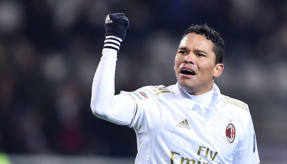 Carlos Bacca, centravanti del Milan e della nazionale colombiana